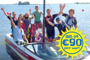 Bedrijfsuitjes Waterskien Veluwemeer bij Waterski en Boarding School De Harder