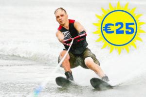 Waterskiën Recreatie en Fun bij Waterski en Boarding School De Harder in Biddinghuizen aan het Flevomeer